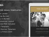 Wedding Invitation Template for Email top 10 Responsive Email Templates for Business Enhancement