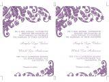 Wedding Invitation Template for Microsoft Word Items Similar to Printable Ms Word Wedding Invitation