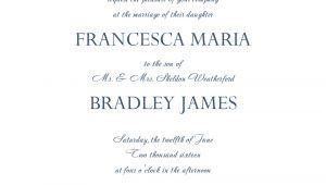 Wedding Invitation Template for Word 6 Wedding Invitation Templates Word Excel Pdf Templates