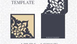 Wedding Invitation Template Laser Cut 44 Best Laser Cut Wedding Invitation Template Images On