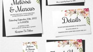 Wedding Invitation Template Pages 16 Printable Wedding Invitation Templates You Can Diy