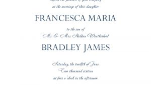 Wedding Invitation Template to Download 8 Free Wedding Invitation Templates Excel Pdf formats