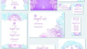 Wedding Invitation Template Vector Graphic Template Of Wedding Invitation Vector Free Vectors