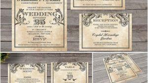 Wedding Invitation Template Victorian Vintage Wedding Invitation Victorian Style Free Download