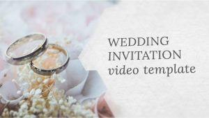 Wedding Invitation Template Video Wedding Invitation Video Template Editable Youtube