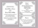 Wedding Invitation Template Word format Wedding Invitation Templates Fa09 Pineglen