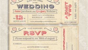 Wedding Invitation Ticket Template Vector Free Download 66 Ticket Invitation Templates Psd Vector Eps Ai