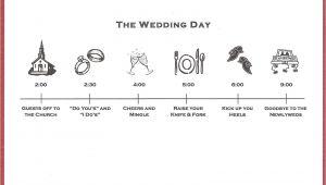 Wedding Invitation Timeline Template Bicoastal Bride Wedding Invitations Fun Timeline Inserts