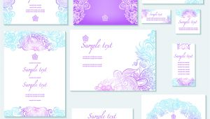 Wedding Invitation Vector Template Template Of Wedding Invitation Vector Free Vectors