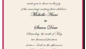 Wedding Invitation Wording Bride's Parents Hosting How to Choose the Best Wedding Invitations Wording