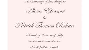 Wedding Invitation Wording for Church and Reception Wedding Invitation Awesome Wedding Invitation Wording for
