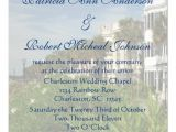 Wedding Invitations Charleston Sc Personalized Rainbow Row Charleston Sc Wedding 5 25