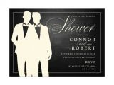 Wedding Invitations for Gay Couples Gay Couple Wedding Shower Invitation Chalkboard Zazzle