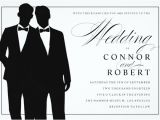 Wedding Invitations for Gay Couples Gay Wedding Invitation 16 Psd Jpg format Download