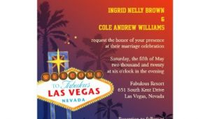 Wedding Invitations Las Vegas Nv Las Vegas Nevada Destination Wedding Invitations 5 Quot X 7