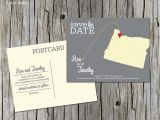 Wedding Invitations Portland oregon oregon Save the Date Portland Eugene Destination