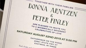 Wedding Invitations Stillwater Mn Stillwater Minnesota River Bridge Landscape 5 7 Wedding