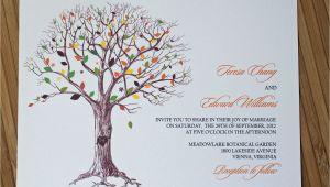 Wedding Invitations with Trees Rustic Tree Wedding Invitations for A Unique Wedding
