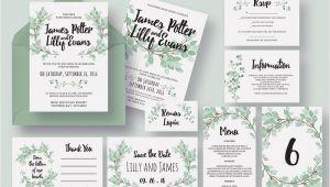 Wedding Invite Packages 50 Wonderful Wedding Invitation Card Design Samples