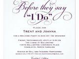 Wedding Welcome Party Invitation Wedding Wel E Party Invitation Wedding Vows