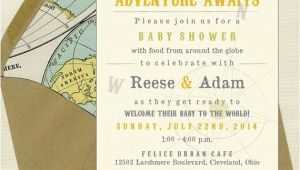 Welcome to the World Baby Shower Invitations Wel E to the World Baby Shower Invites by Bbinvitations