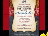 Western Baby Shower Invites Nealon Design Western Cowboy Baby Shower Invitation