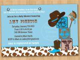 Western Baby Shower Invites Western Baby Shower Invitations Template Resume Builder