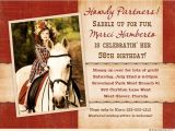 Western Birthday Invitations for Adults Adult Cowboy Birthday Invitation Wild West Round Up