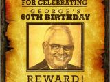 Western Birthday Invitations for Adults Wanted Birthday Invitation Western Cowboy Wanted Poster