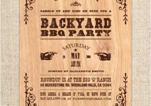Western theme Party Invitation Template Flipawoo Invitation and Party Designs Western themed