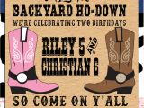 Western theme Party Invitation Template Pin by Crafted by Yudi On Cowboy theme Western Parties