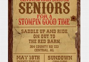 Western theme Party Invitation Template Wanted Poster Western Party Invitation by Graysgraphicdesigns