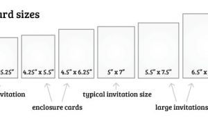 What Size are Rsvp Cards for Wedding Invitations What is the Standard Wedding Invitation Size Everafterguide