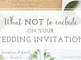 What to Say On Wedding Invitations Wedding Invitation Wording Archives Oh My Designs by Steph