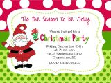 What to Write On A Christmas Party Invitation Christmas Party Invitation