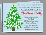 What to Write On A Christmas Party Invitation Christmas Party Invitation Printable Winter Wonderland