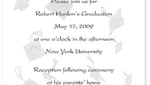 What to Write On A Graduation Invitation Graduation Announcement the Write Stuff