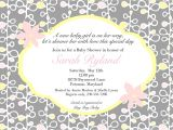 What to Write On Bridal Shower Invite Coed Baby Shower Invitation Wording Pink and Yellowa