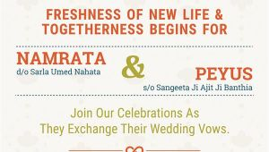 Whatsapp Indian Wedding Invitation Template An Indian Wedding Invitation Card for social Mediai Have