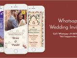 Whatsapp Wedding Invitation Template Free Whatsapp Wedding Invitation Happy Invites Online Video Maker