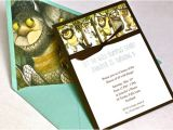 Where the Wild Things are Birthday Invitation Template where the Wild Things are Birthday Invitation Grosgrain