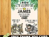 Where the Wild Things are Birthday Invitation Template where the Wild Things are Birthday Invitation where the Wild