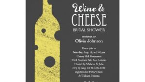 Wine and Cheese Bridal Shower Invitations Wine and Cheese Bridal Shower Invitations