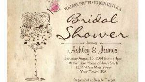 "Wine Bridal Shower Invites Wine & Cheese Bridal Shower Invitation 5"" X 7"" Invitation"
