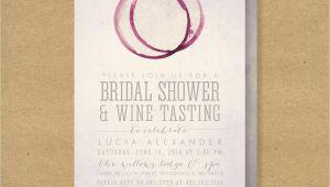 Wine Tasting Bridal Shower Invitations Wine Tasting Bridal Shower Invitation Printable Winery or