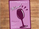 Wine Tasting Party Invitations Free Wine Tasting Party Custom Printable Invitation