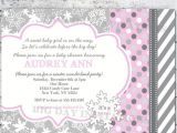 Winter Baby Girl Shower Invitations Girl Winter Wonderland Baby Shower Invitation Snowflakes