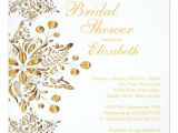 Winter Bridal Shower Invitation Wording Elegant Snowflakes Winter Bridal Shower Invite Zazzle