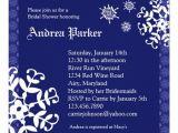 Winter Bridal Shower Invitation Wording Winter Wonderland Bridal Shower Invitation 5 25 Quot Square