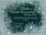 Winter Party Invitation Template Winter Wonderland Party Winter Snowflake Ball by Bellaluella